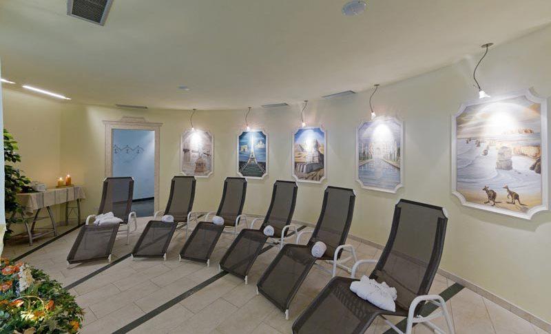 Area relax centro benessere