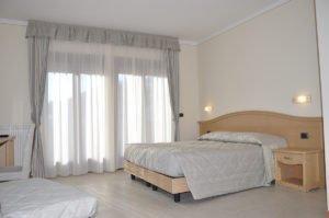 Camere matrimoniali dell'Hotel Select